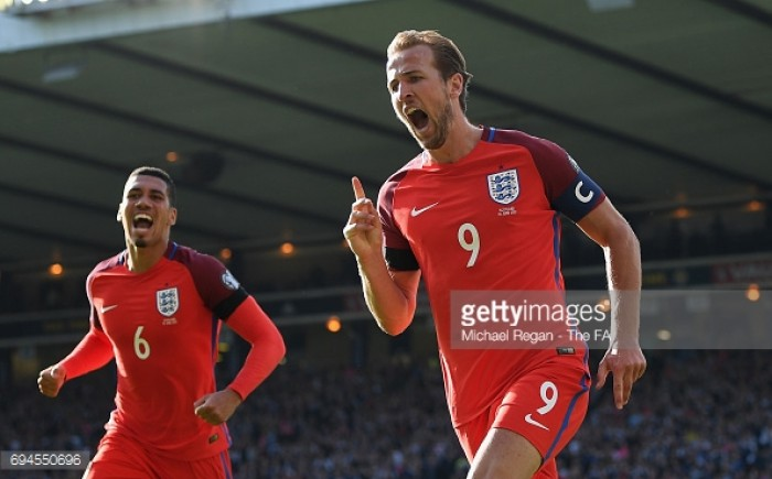 Scotland 2-2 England: Kane saves English blushes with last-gasp equaliser after late Griffiths double