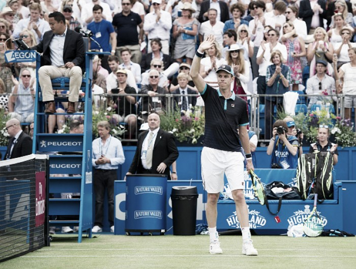 ATP Queen's: Sam Querrey through to the quarterfinal in tough three-set match