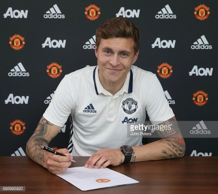 Manchester United sign defender Victor Lindelöf on a four-year deal
