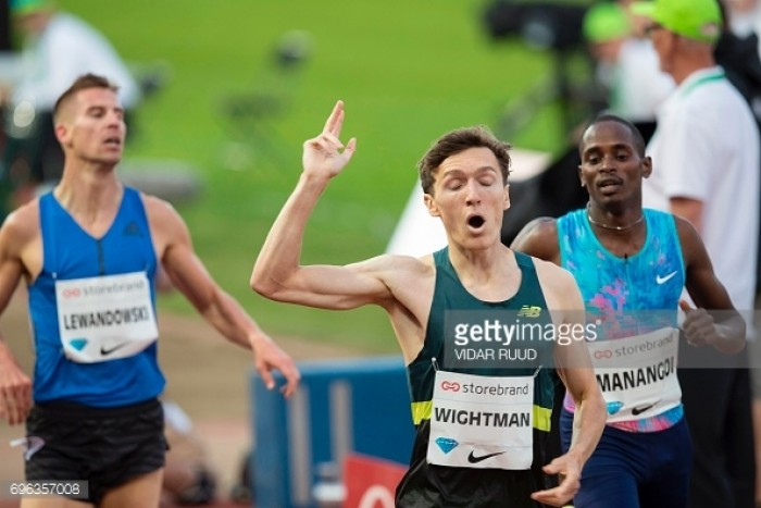 Jake Wightman produces Personal Best to claim 1,500m win at Oslo Diamond League