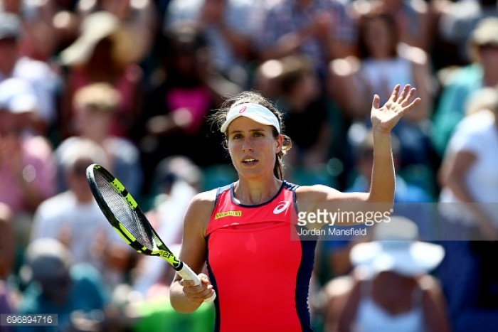 Johanna Konta constantly looking to 'improve and evolve' as a player