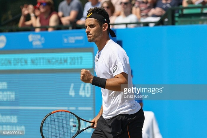 AEGON Open Nottingham 2017: Fabbiano through to final after beating Groth in two sets