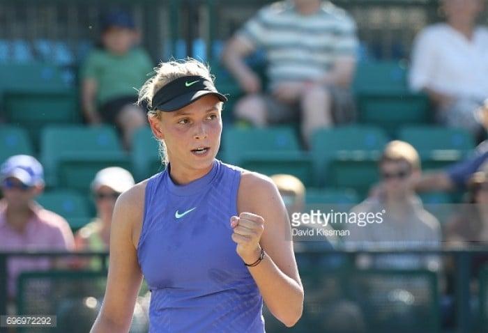 AEGON Open Nottingham 2017: Vekic stuns Safarova as she progresses through to WTA Final