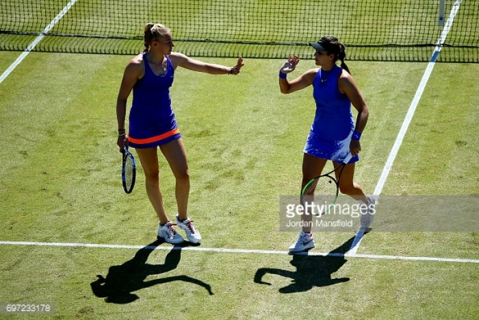 Robson and Rae left feeling like they 'could have done more' in their WTA Doubles Final defeat
