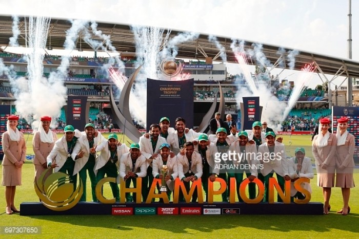 ICC Champions Trophy Final: Red hot Pakistan tear apart rivals India