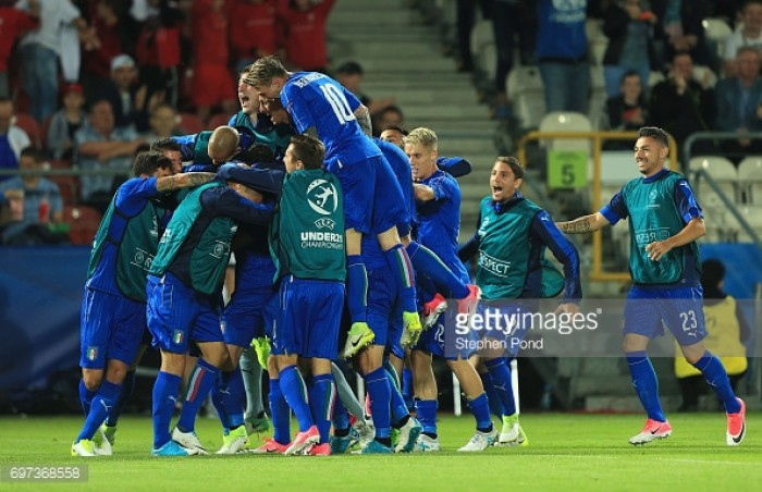 Italy U21 2-0 Denmark U21: Pellegrini fires the Azzurini into the perfect start