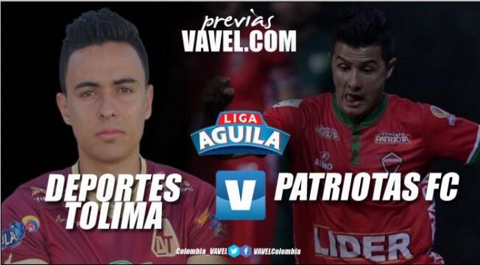 Deportes Tolima - Patriotas: en busca de puntos necesarios