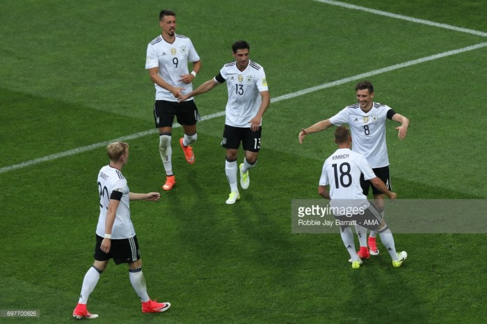 Australia 2-3 Germany: Die Mannschaft win despite Leno errors