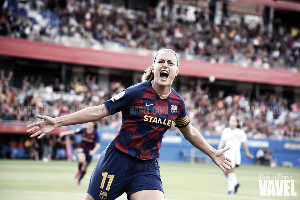 """Alexia Putellas: """"Es un orgullo ser una de las capitanas"""""""