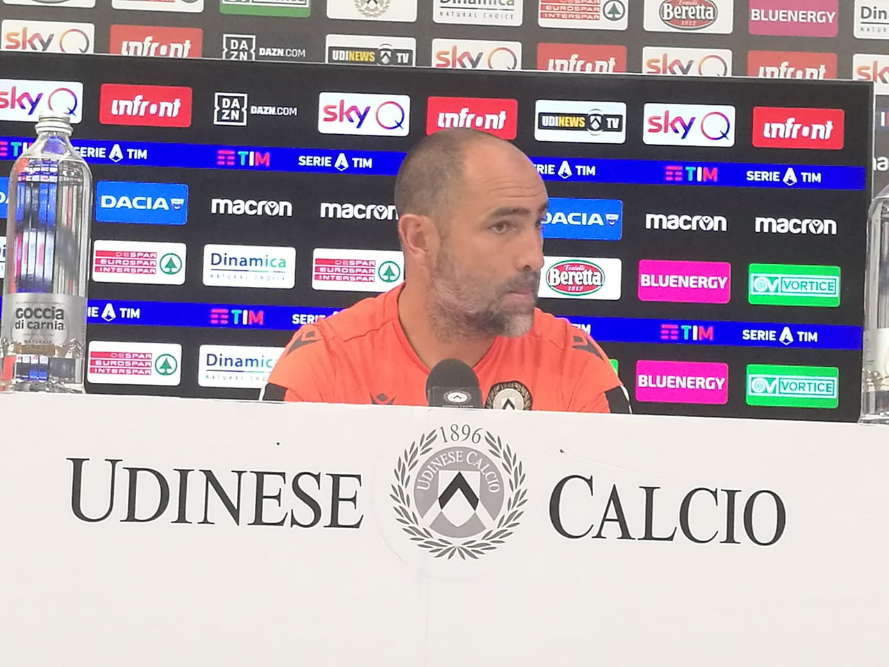 """Udinese - Tudor: """"Solo restando compatti e ripetendo la prestazione potremo vincere"""""""
