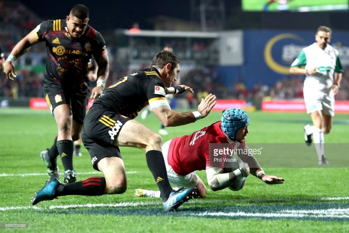 Chiefs 6-34 Lions: Nowell double leads Lions to superior win