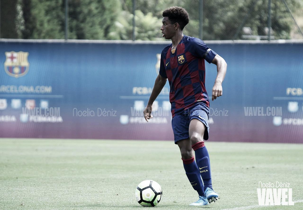 Cuatro jugadores del FC Barcelona, convocados por la Selección Sub-17