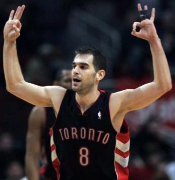 Calderón guía a Toronto en la venganza sobre Boston
