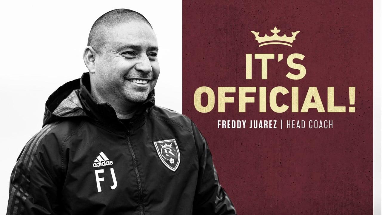 Freddy Juarez entrenará a Real Salt Lake