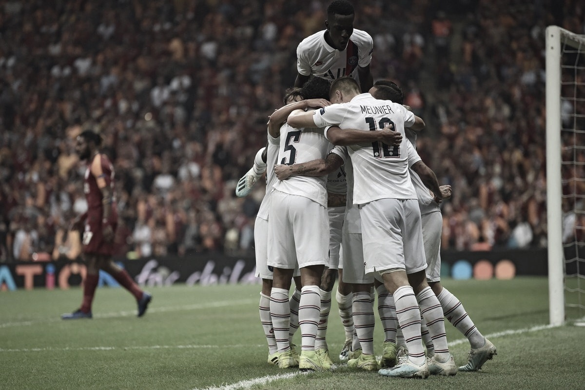 Em jogo truncado,Paris Saint-Germainbate Galatasaray na Turquia
