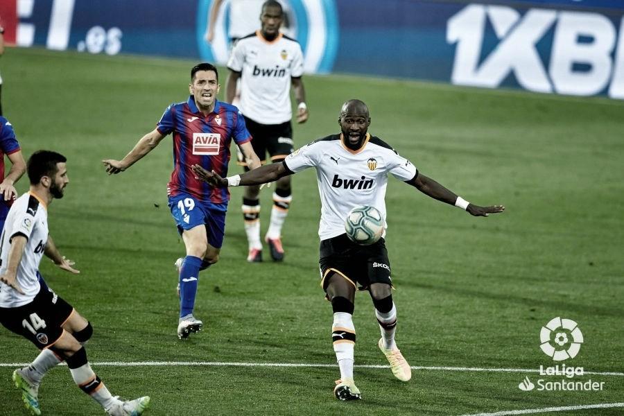 Las puntuaciones del Valencia ante el Eibar