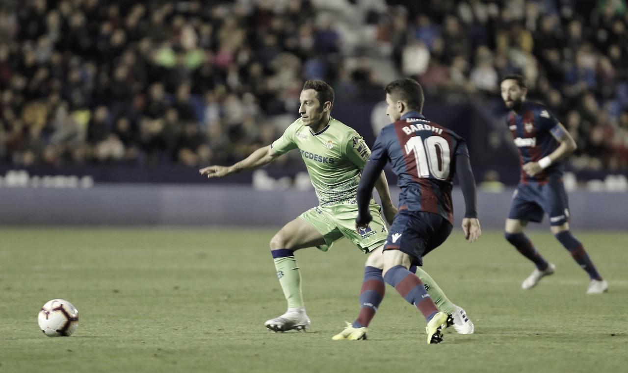 Levante goleia Betis noCiutat de València pela La Liga