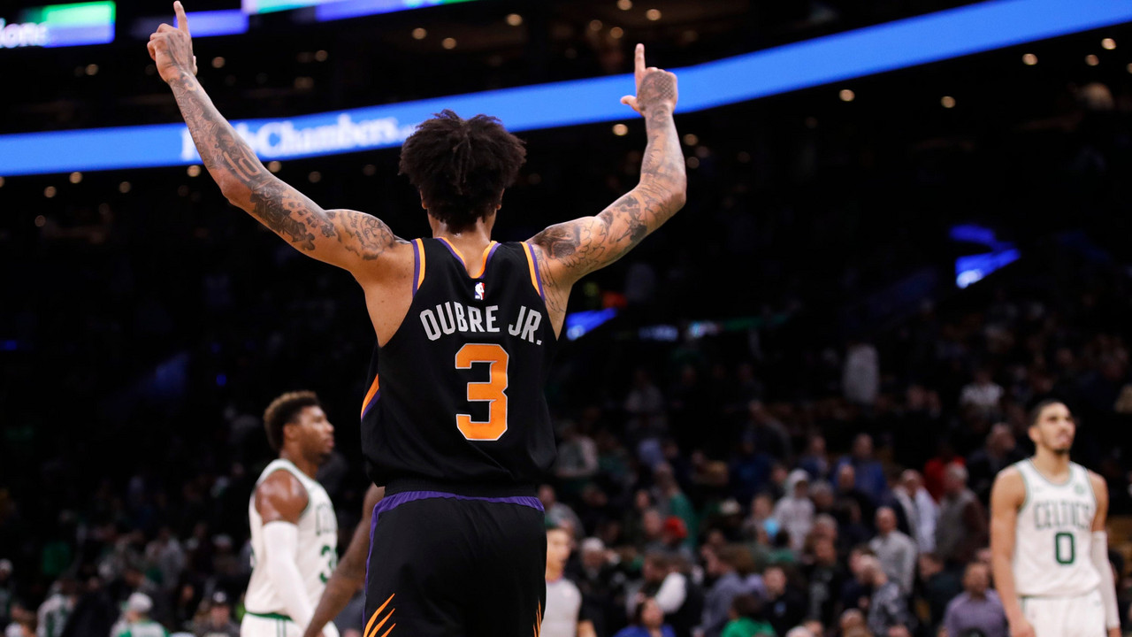 Kelly Oubre Jris in the form of his life