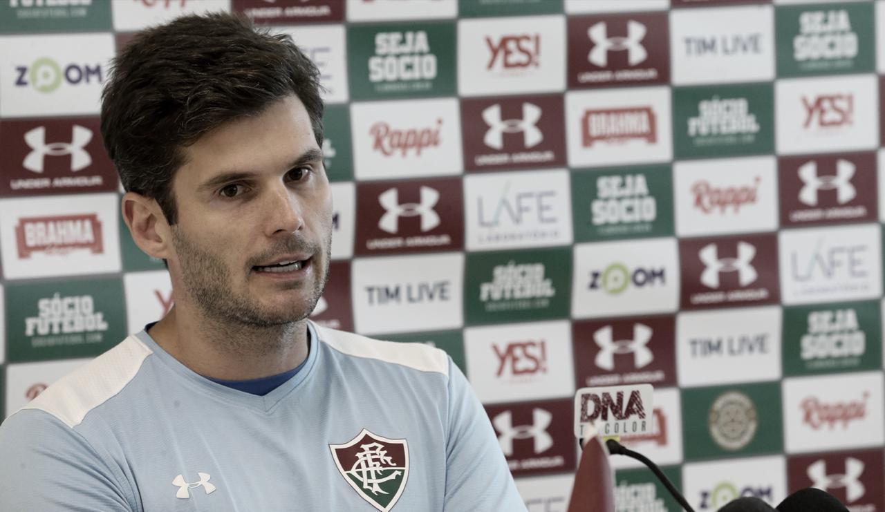 Júlio César crê na permanência do Flu: ''Nenhum jogador e nenhum clube deseja ser rebaixado''
