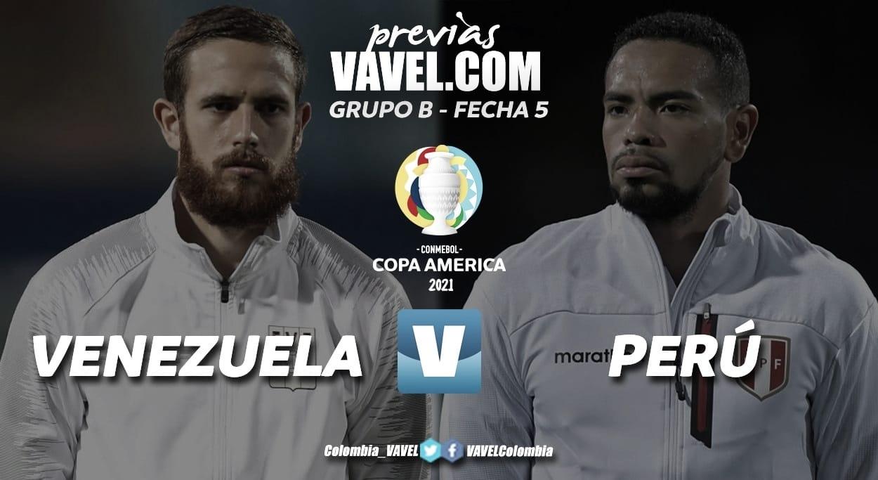 Perú vs Venezuela por un lugar en Cuartos