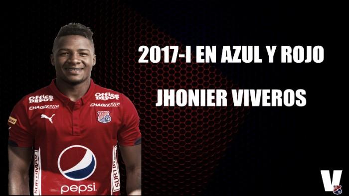 2017-I en azul y rojo: Jhonier Viveros