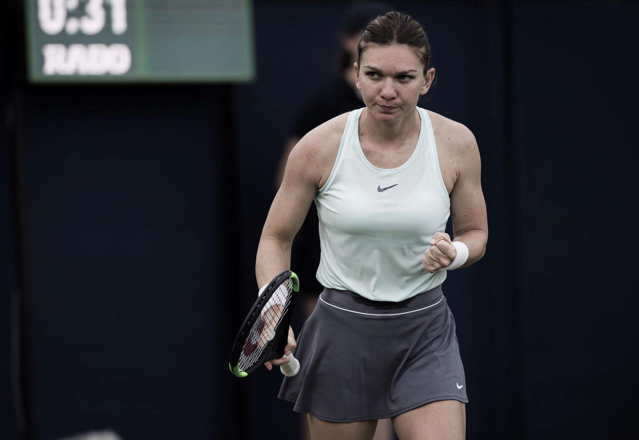 Halep supera Hercog e vai às quartas do WTA Premier de Eastbourne