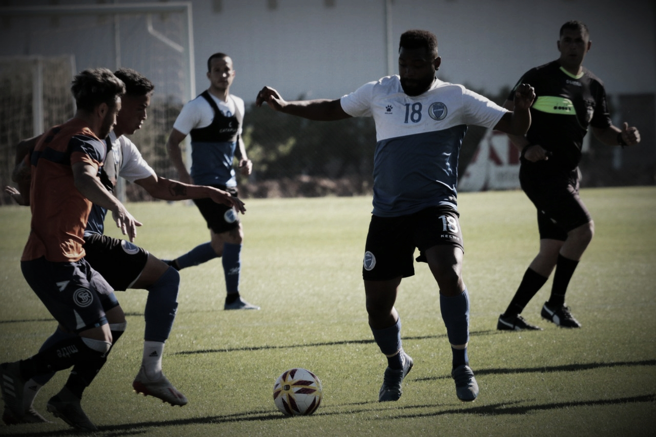 """El """"Morro"""" anotó uno de los goles de Godoy Cruz en el primer partido. Foto: Prensa Godoy Cruz"""