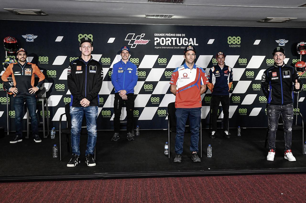 Rueda de prensa del Gran Premio 888 de Portugal 2021