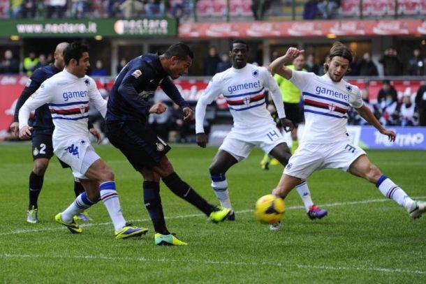 Live Sampdoria - Inter, diretta risultato partita Serie A (1-0)