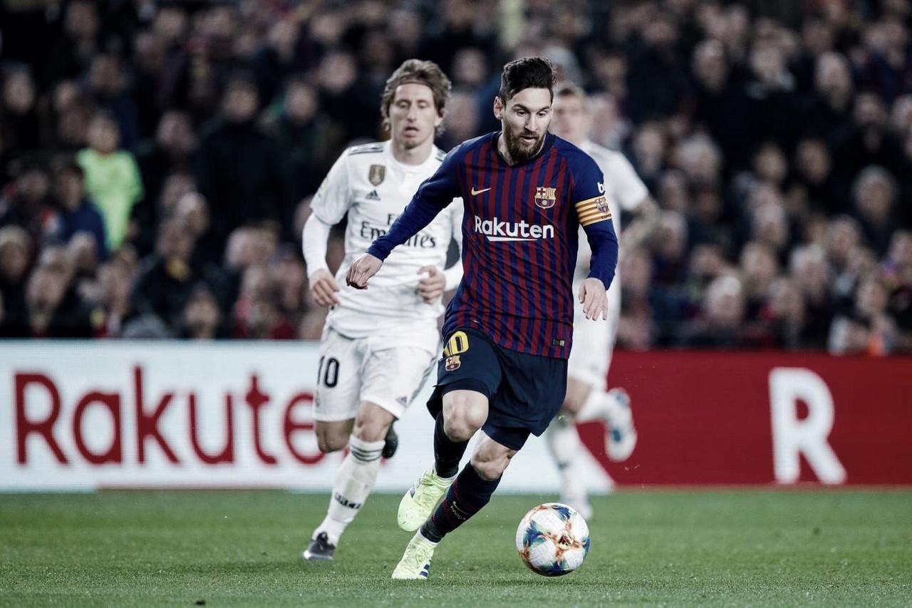 Real Madrid e Barcelona se enfrentam no Bernabéu para definir finalista da Copa do Rei