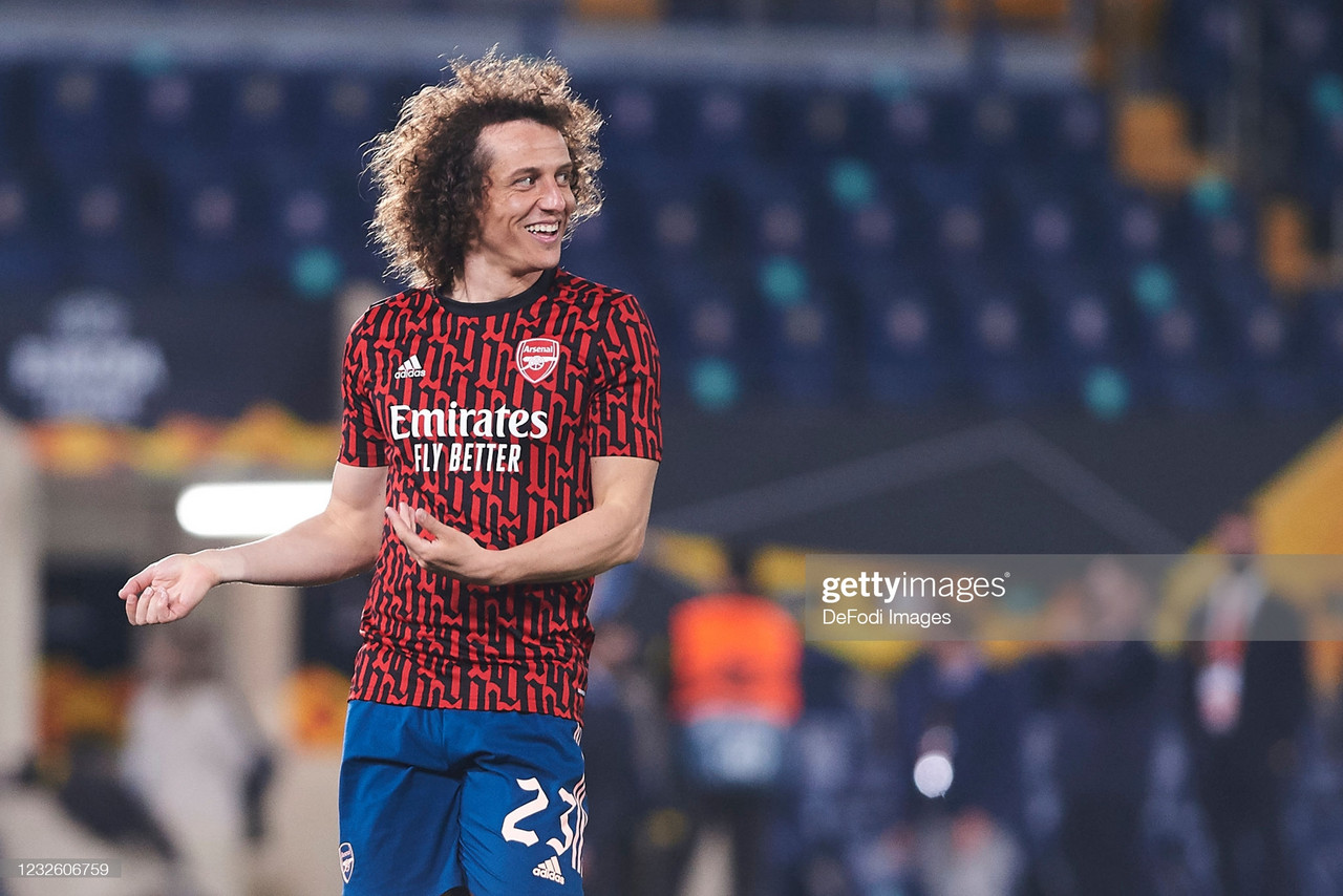 David Luiz: His three best Arsenal performances