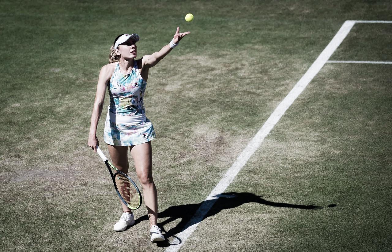 Alexandrova bate Svitolina pela primeira vez e está nas quartas em Berlim