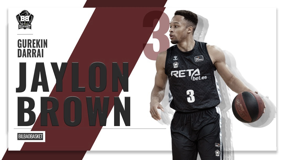 Jaylon Brown, otra temporada en Bilbao Basket
