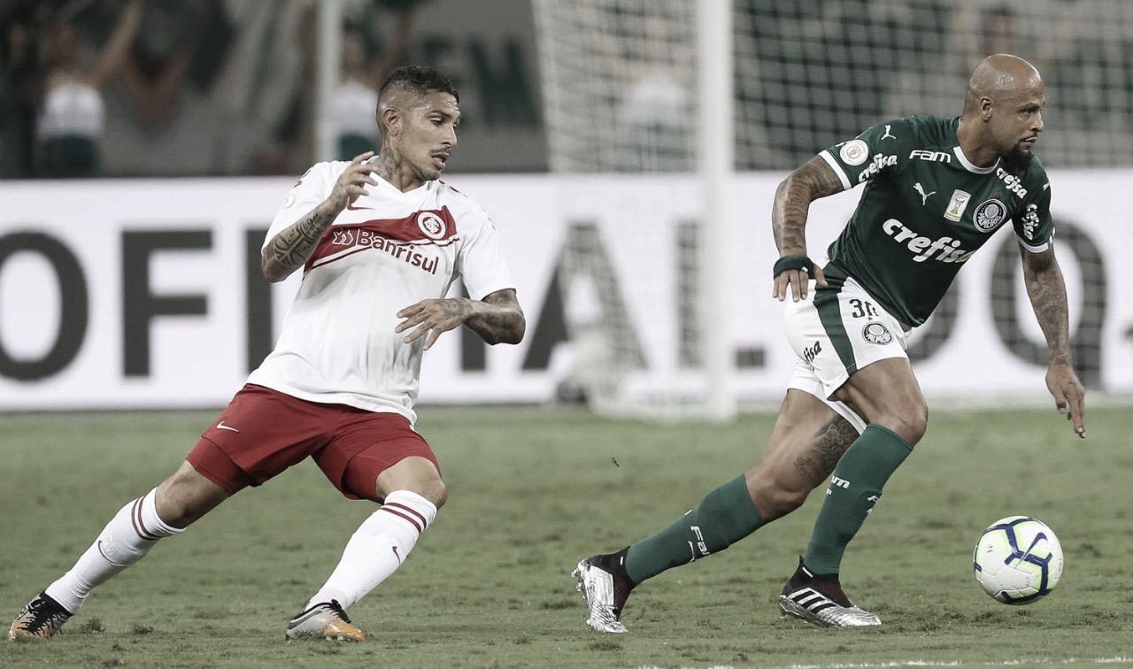 Palmeiras e Internacional disputam vaga pela semifinal da Copa do Brasil
