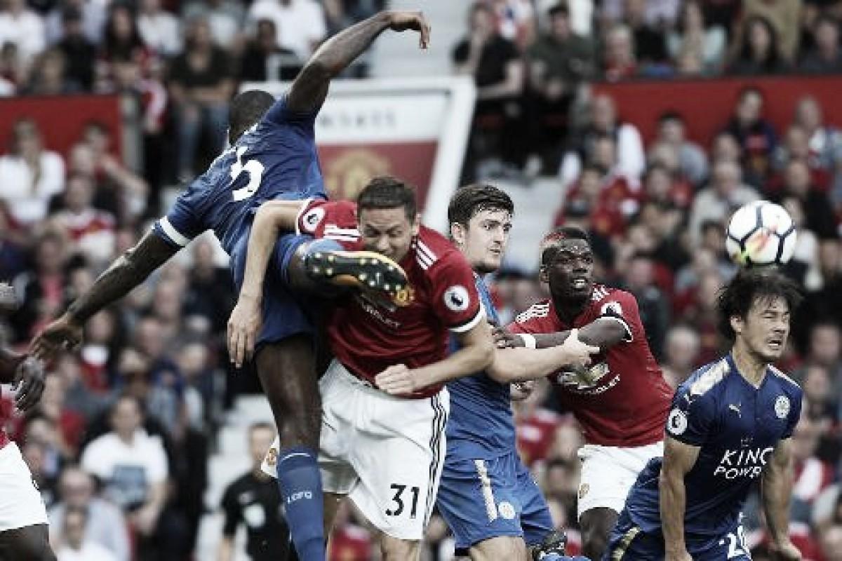 Resultado Manchester United x Leicester City pela Premier League 2018-19 (2-1)