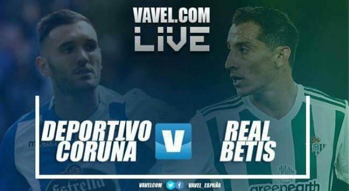 Previa Deportivo de La Coruña - Real Betis: prolongar la racha