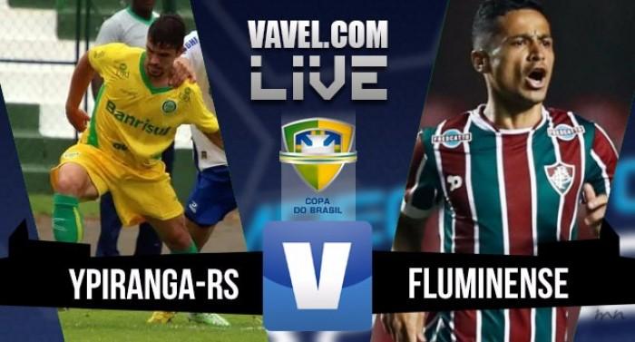Resultado Ypiranga-RS x Fluminense na Copa do Brasil 2016 (0-2)