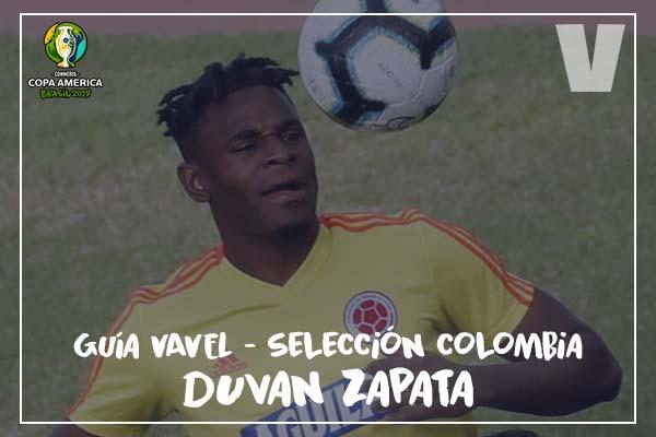 Guía VAVEL, cafeteros en la Copa América 2019: Duván Zapata