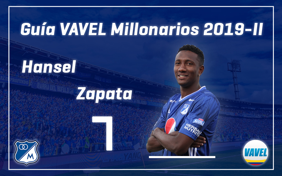 Análisis VAVEL, Millonarios 2019-II: Hansel Zapata
