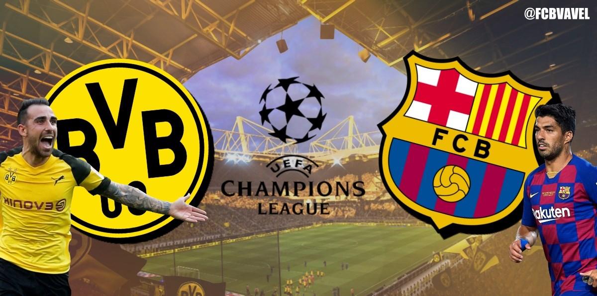 Borussia Dortmund vs Barcelona, en vivo y en directo online en Champions League 2019