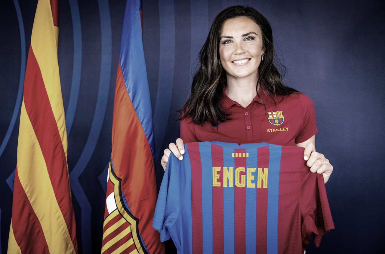 OFICIAL: Ingrid Engen nuevo fichaje del FCB Femení