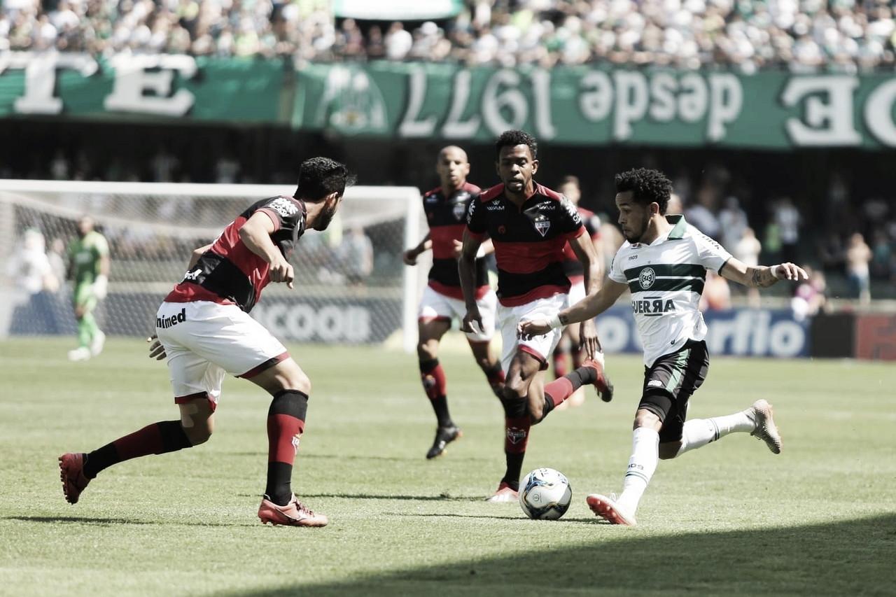 Atlético-GO bate Coritiba e assume a vice-liderança da Série B