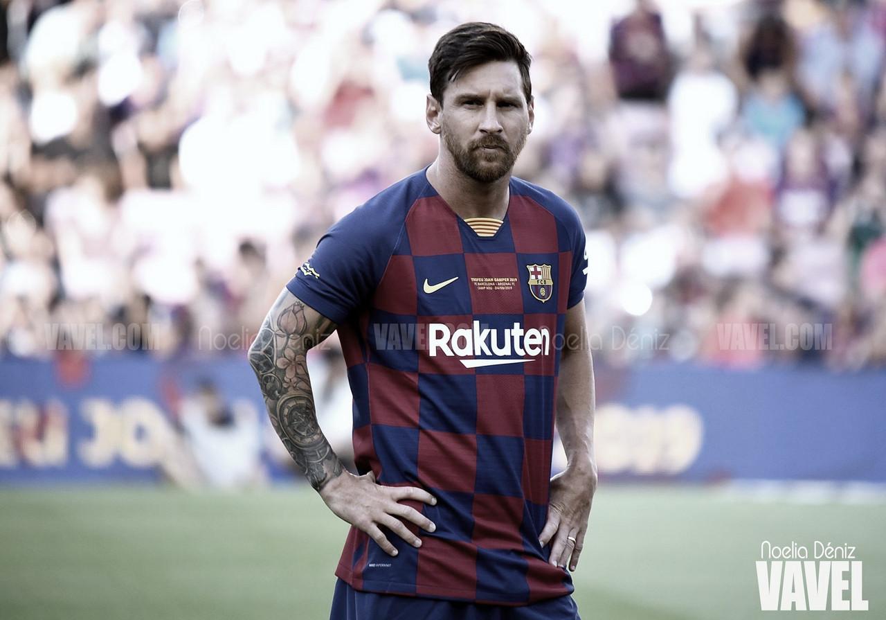 """Leo Messi: """"Quiero estar en el Barcelona, es mi casa"""""""