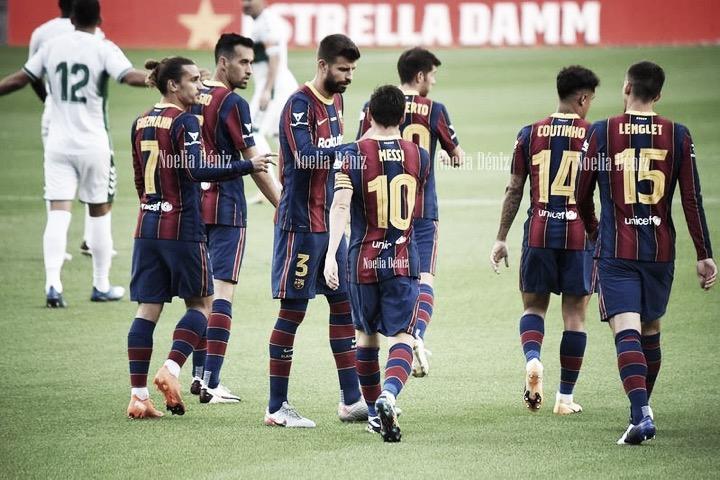 El Barcelona esta temporada. | Foto: Noelia Déniz