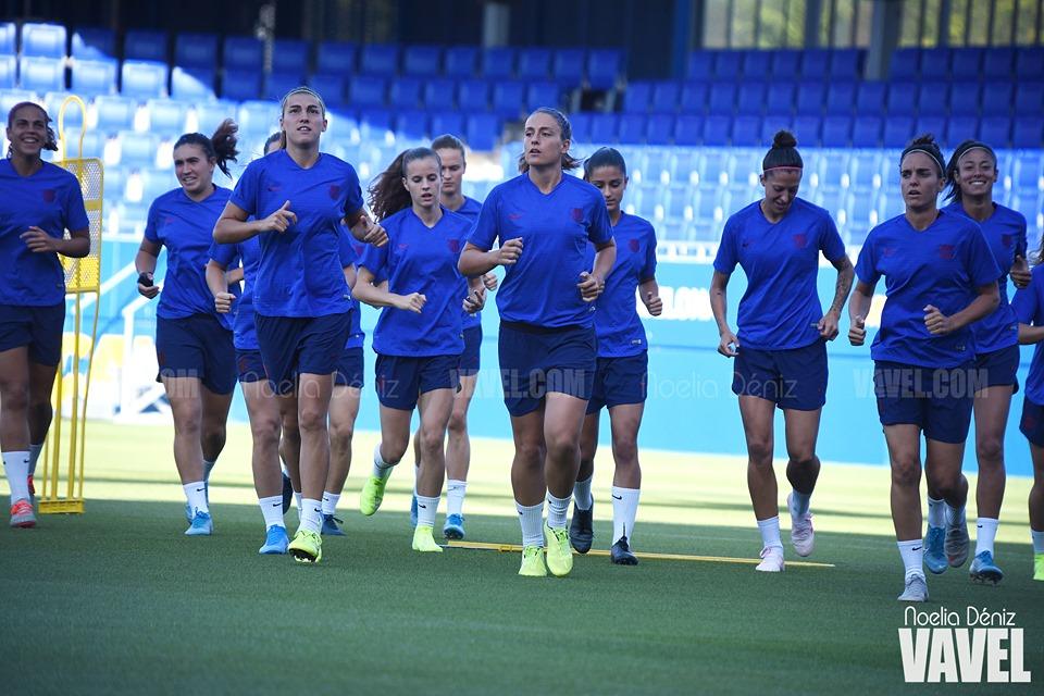 El Barça Femenino ultima el debut liguero
