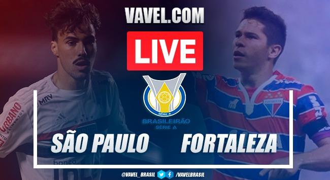 São Paulo x Fortaleza AO VIVO: jogo online pelo Campeonato Brasileiro