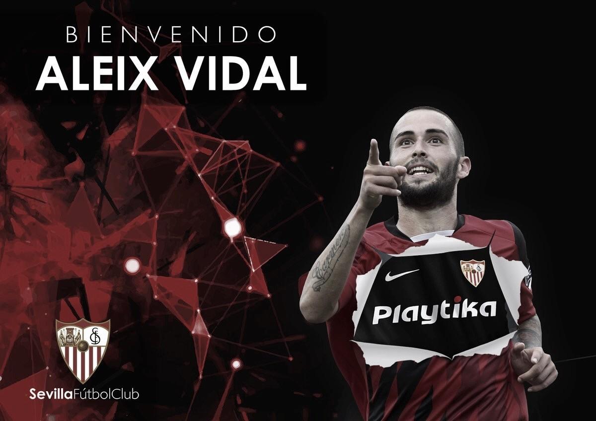 Bom filho à casa torna: Aleix Vidal retorna ao Sevilla após três anos no Barcelona