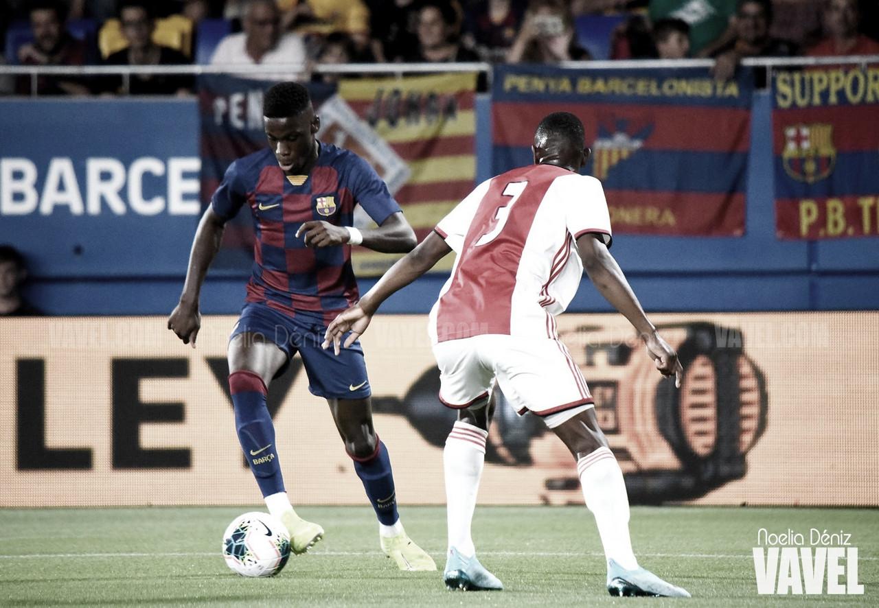 Tres barcelonistas presentes en la victoria de España Sub-18 frente a Catar (1-2)