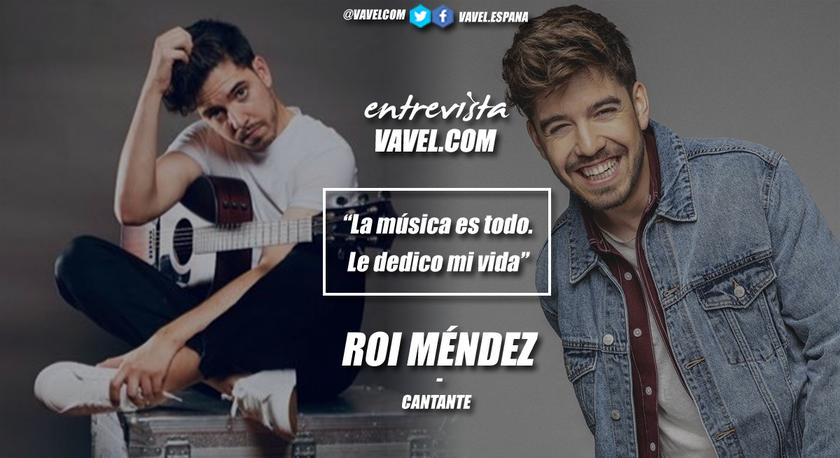 """Entrevista. Roi Méndez: """"La música es todo. Le dedico mi vida"""""""