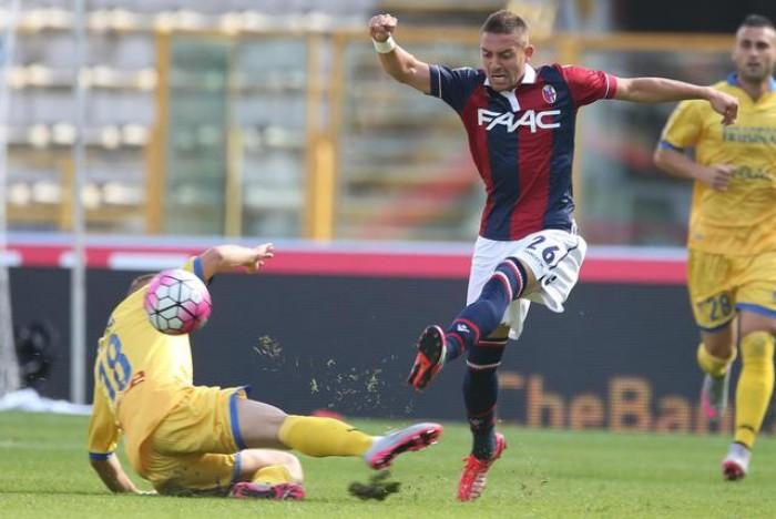 Frosinone - Bologna, momenti a confronto